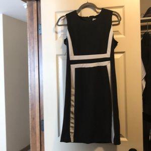 Black and White Asymmetrical Dress!